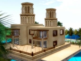 Dubai villa house