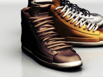 Mael sneakers . suede