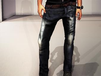 Welsey jeans & Wesley belt
