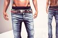 AARON jeans & belt