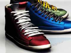 Mael sneakers . leather