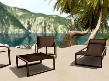 Maissa outdoor set