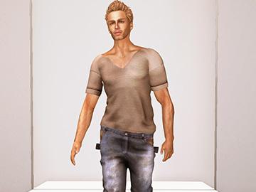 Bass jeans & Dan t-shirt