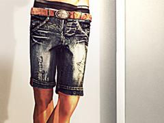 Ugo Denim Shorts & Ugo Belt