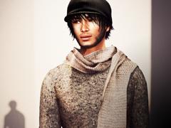 KISHI woolen sweater